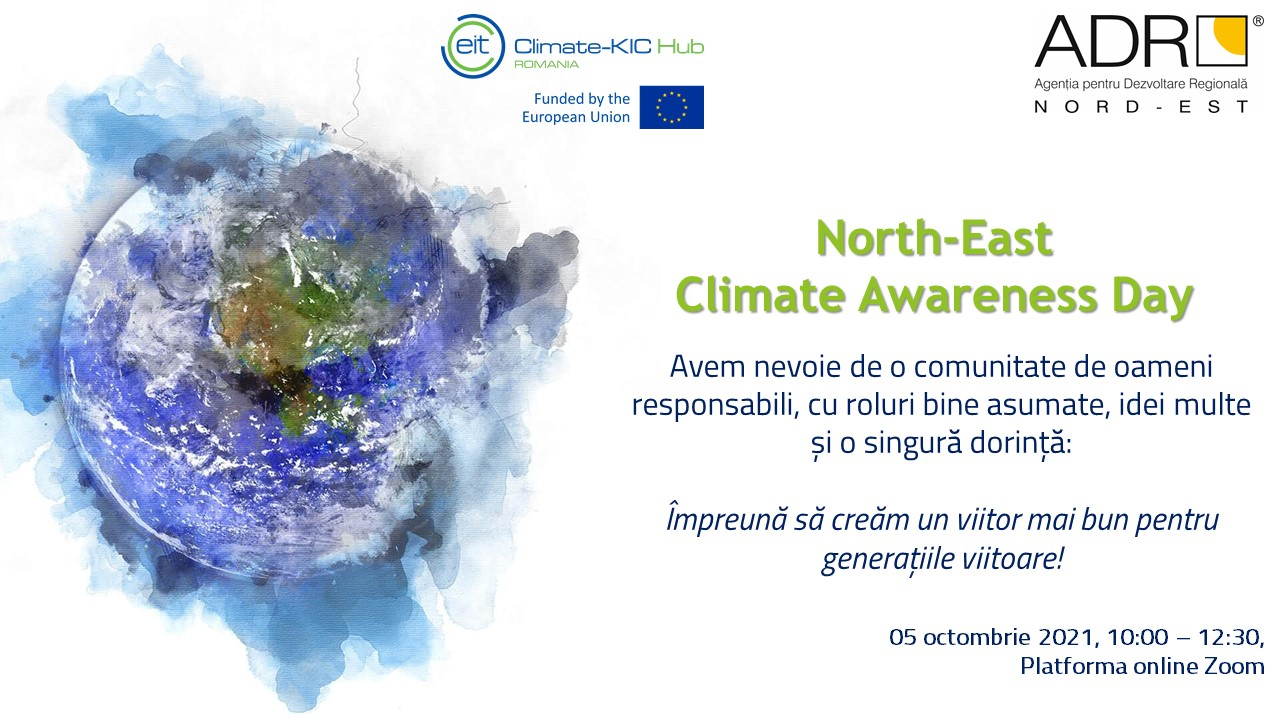North-East Climate Awareness Day_card online_Poza FB